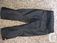 Oscar Armored Pants Knee and thigh padding Clean Size
