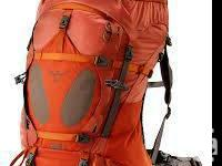 I am selling an Osprey Xenon 70 Hiking Bag. I acquired
