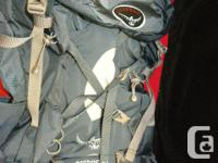 Osprey Aether 85 litre backpack in mint condition, item