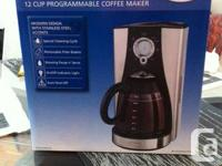 Stainless steel Coffee Maker -  never used.  Bought to