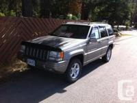 Make. Jeep. Version. Grand Cherokee. Year. 1999.