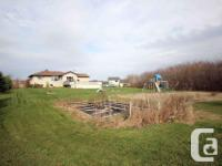 # Bath 2 # Bed 4 Large 2 acre lot w/ No Rear Neighbours