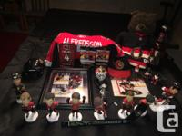 Have some Ottawa Senators stuff to sell 8 bobbleheads