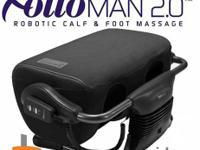 Utilized Footrest Robotic Calf & Foot Massager. I'm