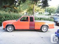 Hi I am parting out my 1987 Chevy S-10 normal cab brief