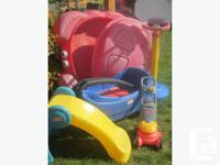 sold as a lot as shown with added free kiddies pool