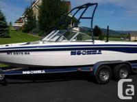 2001 Moomba Wilderness LS with 150 hrs. New