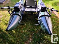 Outcast 9ft pontoon boat Fully equipped pontoon boat