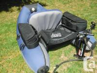 Excellent condition Outcast Prowler Float tube. This is
