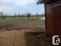 Outdoor board $250 *Round bale(s) for paddock *Water