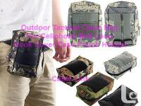 Outdoor Tactical Camo Bag For Cellphone Belt Loop Hook