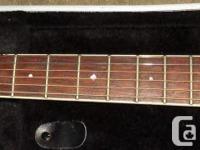 Ovation 1771LX Standard Balladeer acoustic/electric.