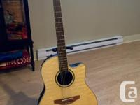 This as new Ovation Celebrity CC24-4Q with its quilted