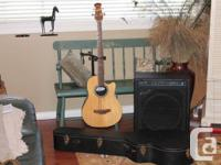 Ovation Personality, Acoustic/Electric Bass Guitar.