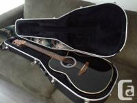 This guitar is in like new condition. Its a Ovation