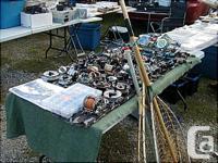 I'm set up at the Cedar Rd. Flea Market every Sunday