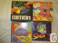 Many Great Vintage and Collectible Boardgames for sale.