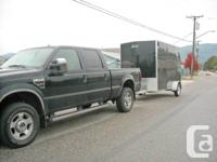 Enclosed trailer! Overheight - hard to find... fits RZR