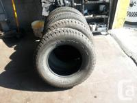 4 EXCELLENT TIRE 2 WINTER 2 ALL SEASON SIZE P/265/70/17