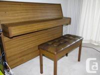 "Piano ""Yamaha"" made in Japan. Height -- 43'. Twelve"