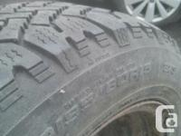 I have a set of 4 Snowmark Winter tires for sale or for