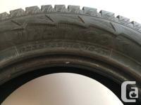 """Selling 4, 18"""" Hankook iPike winter tires. P235/65R18."""