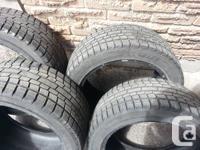 Winter tires Yokohama iG20, P245/45R18. Purchased in