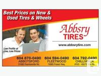 265 60 18 tires - $25 each & up overstocked inventory