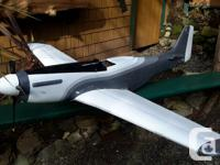 P51 airplane weathervane for sale. Needs some parts but