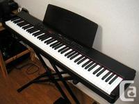 Yamaha P90 Digital Piano available for sale. Fresh,
