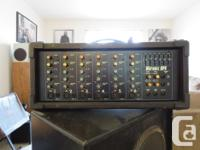 ! - Yorkville Pa Head Micromix MP6 and and pair of