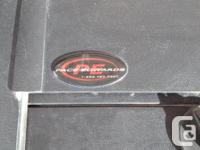 Like new Pace Edwards canister tonneau cover, Model TR