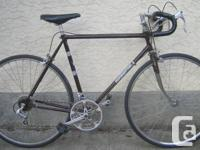"""Pacesetter - light weight road bike with new 27"""" tires"""