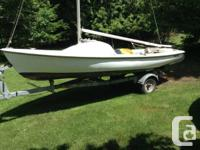 A perfect boat for summer day sailing, this well