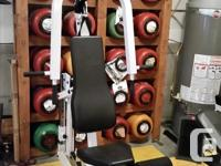 Pacific 2000 Home Gym. Compact, effective and