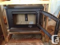 Pacific Vista Wood Stove Series C from Pacific Energy.
