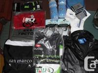 Great package of biking gear & accessories The package