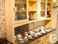 Hello  ... All cabinets are Original, untouched ,