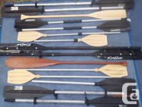 PADDLES 4 Kayaks, Canoes & Inflatables.    Oars &