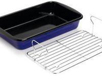 Offering PADERNO Enameled Steel Baking Frying pan as
