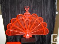 Painted Metal Fan $75 REDUCED TO $25 REDUCED TO $15