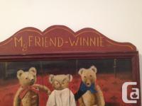 """Painting - My Friend Winnie the Poo & Friends - 16"""" H X"""