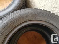 Excellent condition. Pair of 185/65/14 Toyo AS tires.