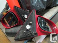 I am selling a pair of side view mirrors from a 1999