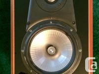 A pair of Energy 'Veritas' speakers. V2.1CH-1.These