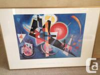 By famous Russian artist Wassily Kandinsky, one of the