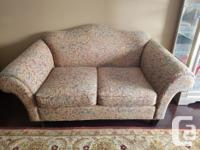 Pair of Decorest love seats in excellent condition.
