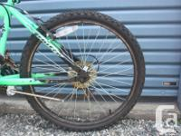 2 matching kids HUFFY RIVAL mountain bikes for sale,
