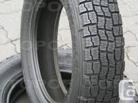 I have a pair of Michelin 195/60/r15 with 90% tread on