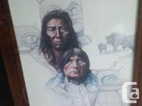 Pair of Original 1977 Prints - Plains Indian Heritage